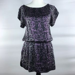 Rebecca Taylor Leopard Silk Dress